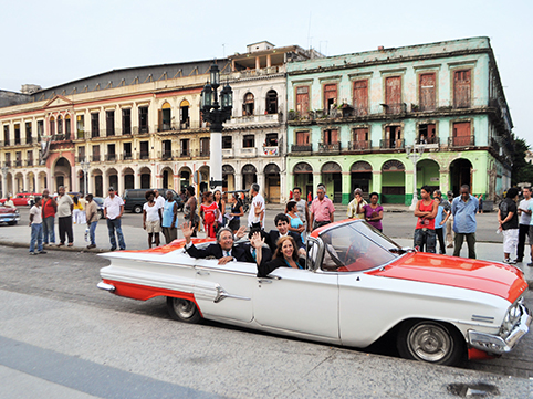 Touring Cuba and the Middle East
