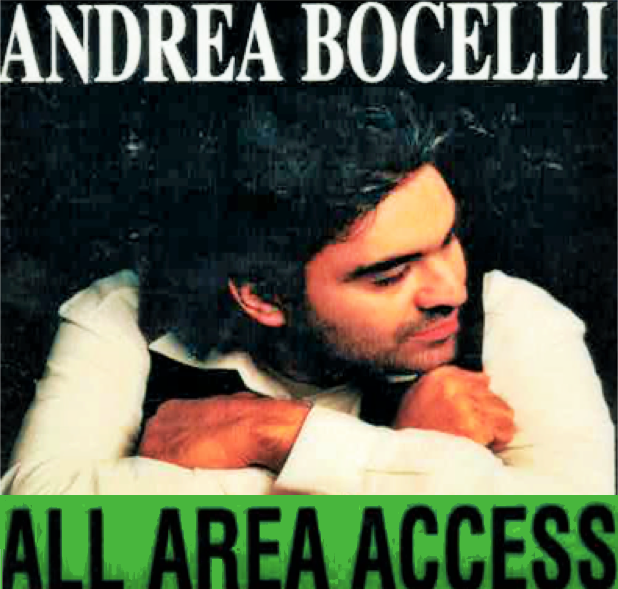 In The Arena With Pittsburgh, Bocelli