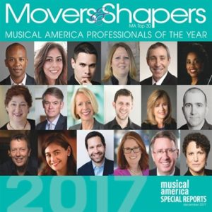 Musical America, Movers and Shapers Cover