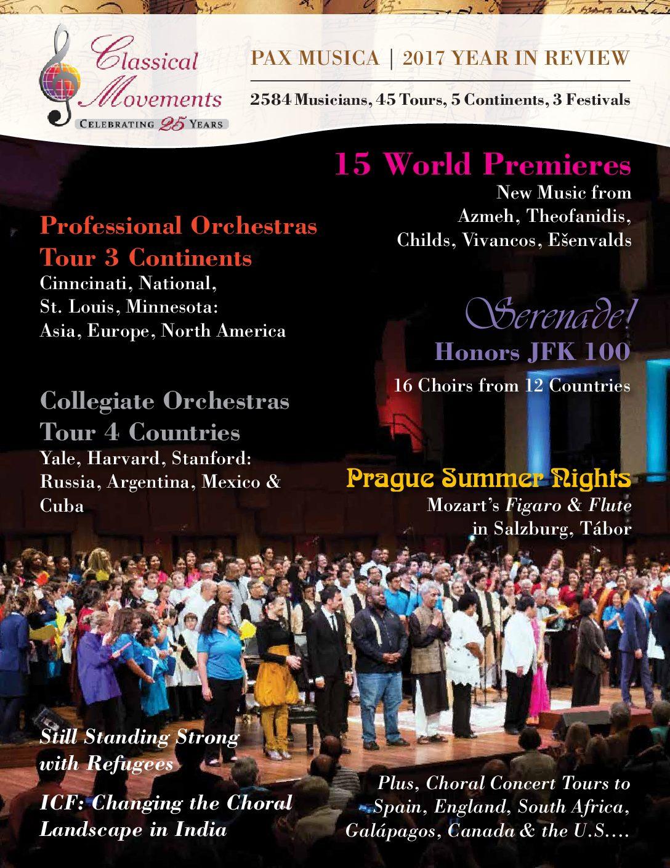 Touring Seasons | Classical Movements