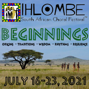 Ihlombe 2021 Beginnings Theme with cave paintings SQUARE